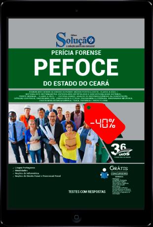 Apostila PEFOCE 2021 PDF Grátis Ensino Superior