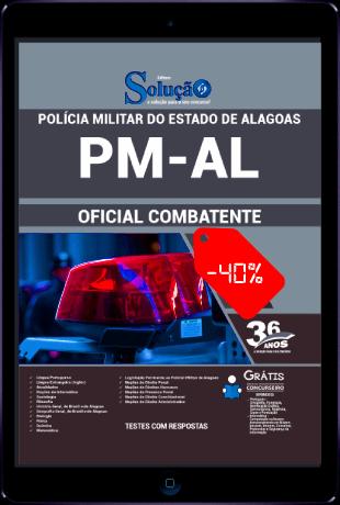Apostila PM AL 2021 PDF Download Oficial Combatente