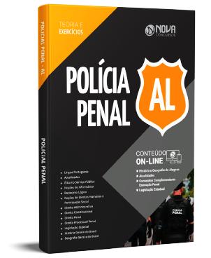 Apostila Polícia Penal AL 2021 PDF Grátis Cursos Online