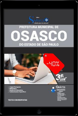 Apostila Prefeitura de Osasco SP 2021 PDF Download Grátis