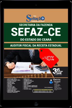 Apostila SEFAZ CE 2021 PDF Grátis Auditor Fiscal