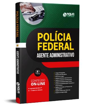 Apostila Agente Administrativo PF 2021 PDF Grátis Download