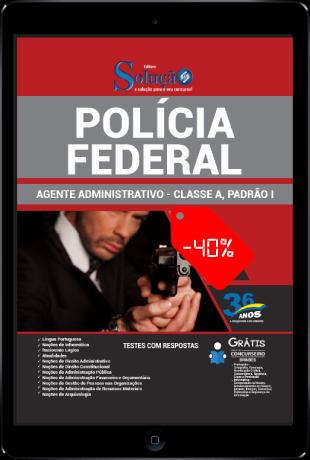 Apostila Agente Administrativo PF 2021 PDF Grátis