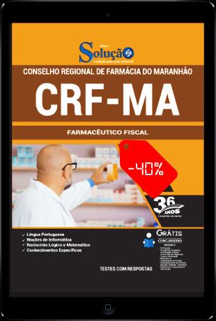 Apostila CRF MA 2021 PDF Download Grátis Farmacêutico Fiscal