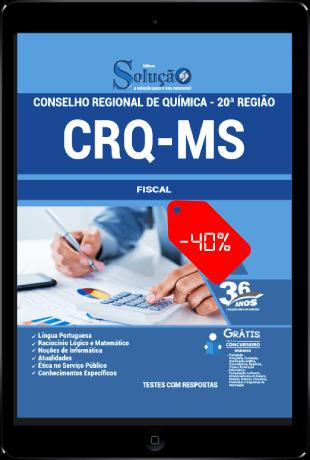 Apostila CRQ MS 2021 PDF Download Grátis Fiscal