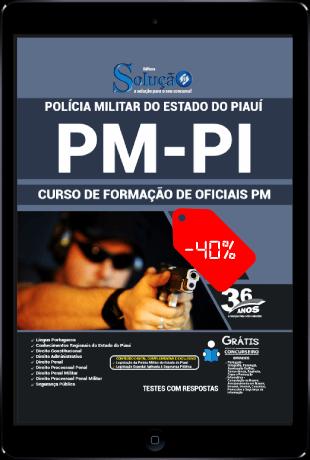 Apostila PM PI 2021 PDF Grátis Oficial PM PI