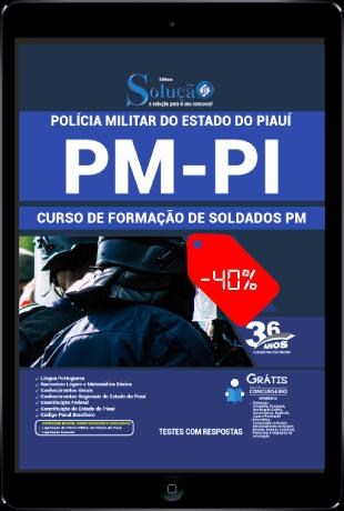 Apostila PM PI 2021 PDF Grátis Soldado PM PI