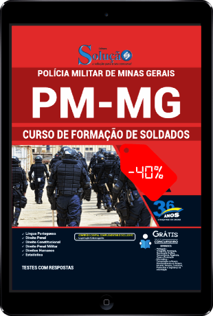 Apostila PMMG Soldado PDF Download 2021