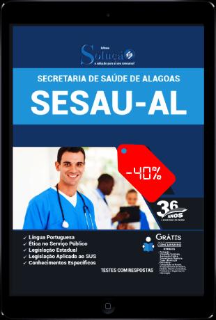Apostila SESAU AL 2021 PDF Grátis Conteúdo Online