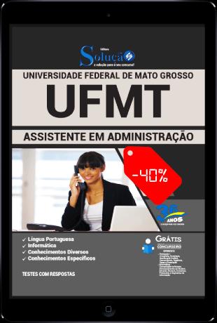 Apostila UFMT 2021 PDF Download Grátis Assistente Administrativo