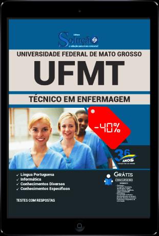 Apostila UFMT 2021 PDF Download Grátis Técnico em Enfermagem
