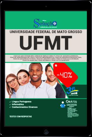 Apostila UFMT 2021 PDF Grátis Ensino Médio