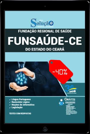 Apostila Funsaúde CE 2021 PDF Grátis Conteúdo Online