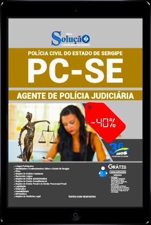Apostila PC SE 2021 PDF Grátis Agente de Polícia Judiciária