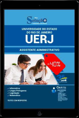 Apostila UERJ 2021 PDF Grátis Concurso UERJ RJ 2021