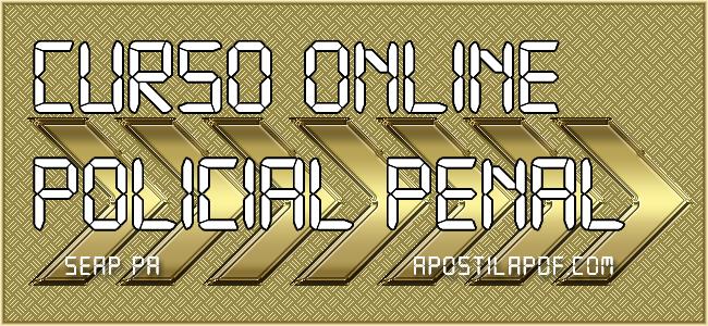 Curso Online Policial Penal SEAP PA 2021