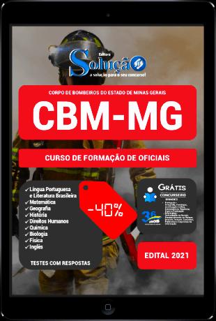 Apostila CBM MG 2021 PDF Grátis Bombeiro Militar Oficiais CBMMG 2022