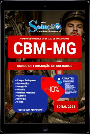 Apostila CBM MG 2021 PDF Grátis Bombeiro Militar Soldado CBMMG 2022