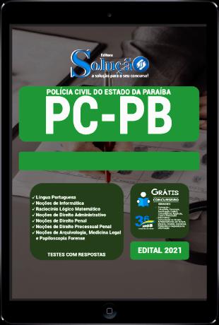 Apostila PC PB 2021 PDF Grátis Cursos Online