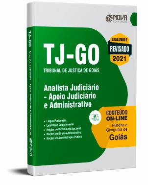 Apostila TJ GO 2021 PDF Grátis Analista Judiciário