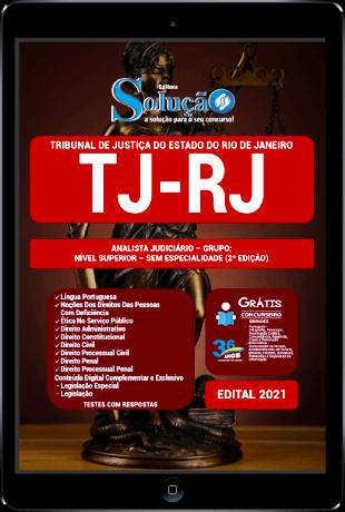 Apostila TJ RJ 2021 PDF Download Grátis Analista Judiciário