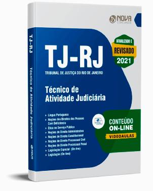 Apostila TJ RJ 2021 PDF Download Grátis Técnico de Atividade Judiciária