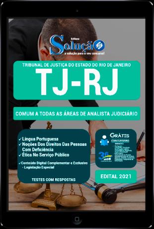 Apostila TJ RJ 2021 PDF Grátis Analista Judiciário